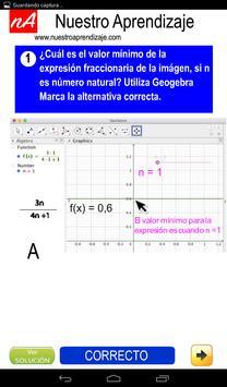 GeoGebra analizar expresión fraccionaria Naturales screenshot 3