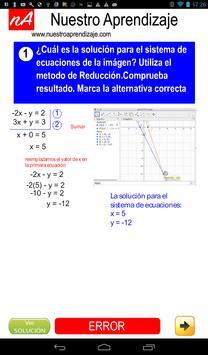 Resolver por reducción sistema de ecuaciones screenshot 11