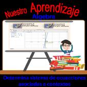 Sistema de ecuación lineal asociadas a contextos icon
