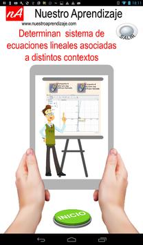 Sistema de ecuación lineal asociadas a contextos screenshot 10