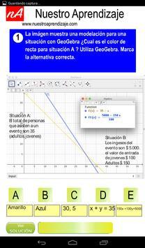 Modelan situaciones para sistema de ecuaciones screenshot 6