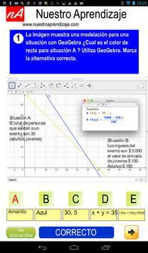 Modelan situaciones para sistema de ecuaciones screenshot 7