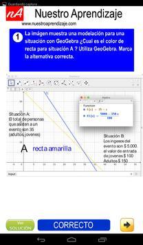 Modelan situaciones para sistema de ecuaciones screenshot 8