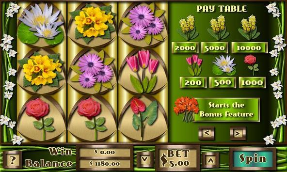 Flower Slots Machine Free apk screenshot