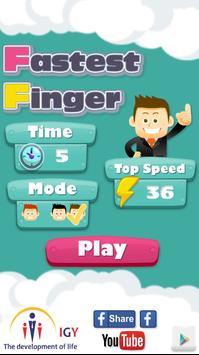 Fastest Finger poster