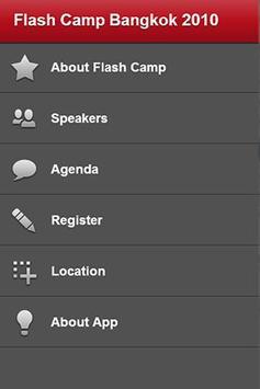 Flash Camp Bangkok for Android apk screenshot