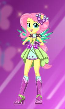 Fluttershy Dress Up poster