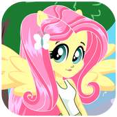 Dress up Fluttershy icon