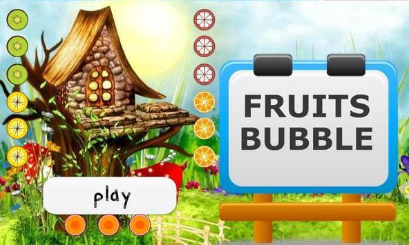 Fruits Bubble poster