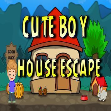 Cute Boy House Escape poster