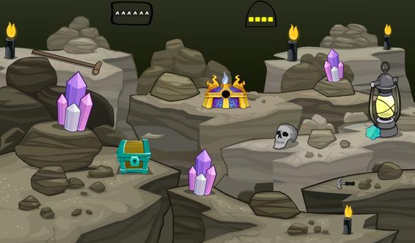 Gold Treasure From Cave apk screenshot