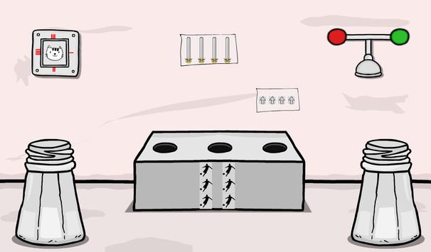 Great White And Black Room Escape screenshot 5