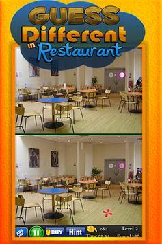 Guess Different in Restaurant apk screenshot