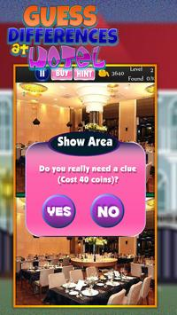 Guess the Differences in Hotel apk screenshot