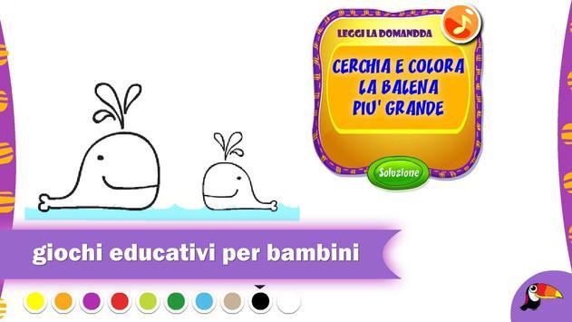 Giochi in italiano per bambini poster