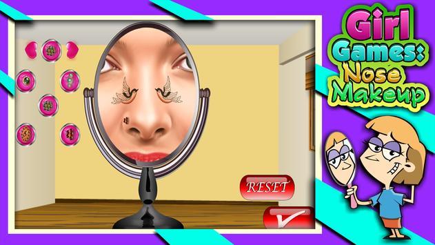 Girl Games : Nose Makeup screenshot 11