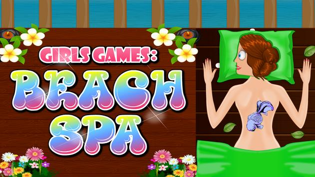 Girls Games : Beach Spa screenshot 9
