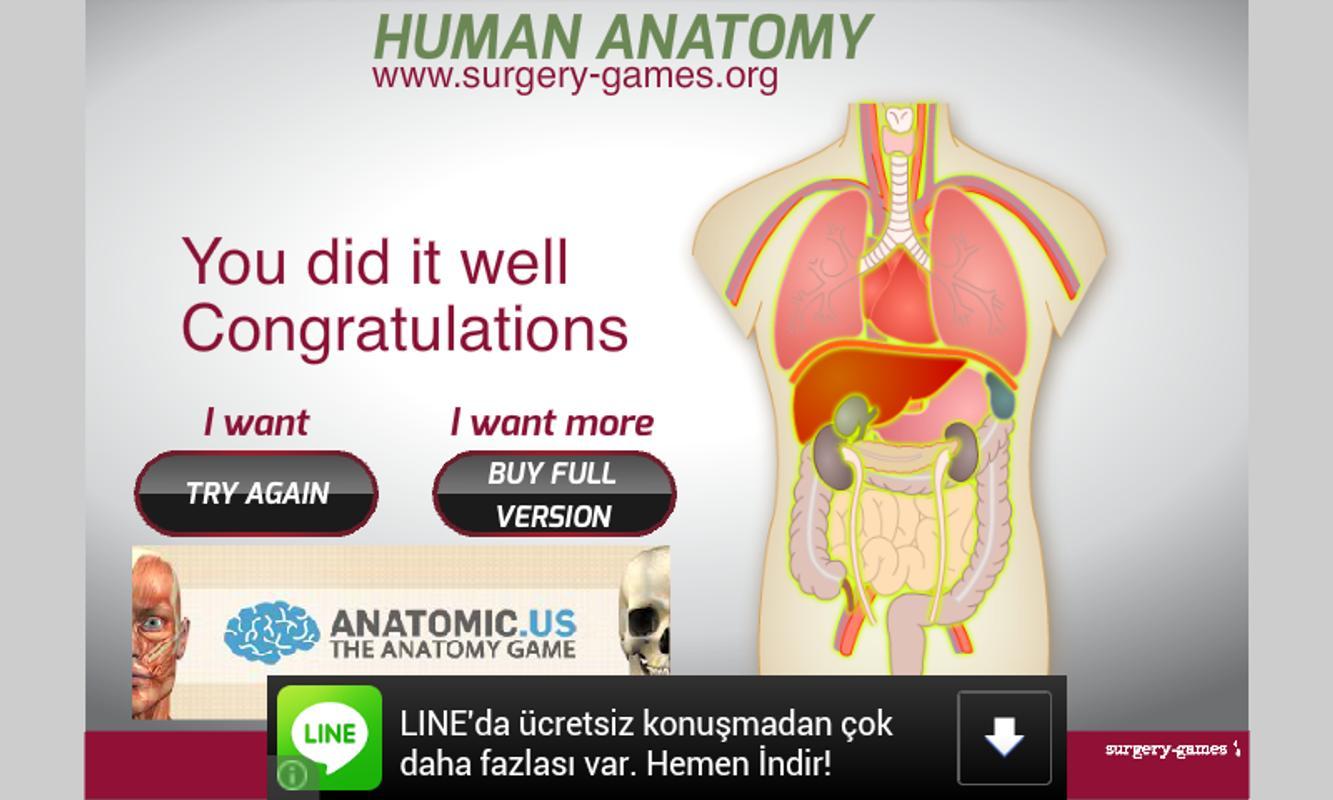 Human Anatomy APK-Download - Kostenlos Geduldsspiele SPIEL für ...
