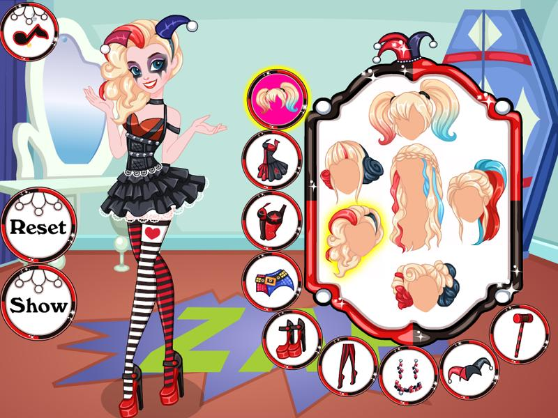 Game Harley Quinn Dress Up For Android Apk Download