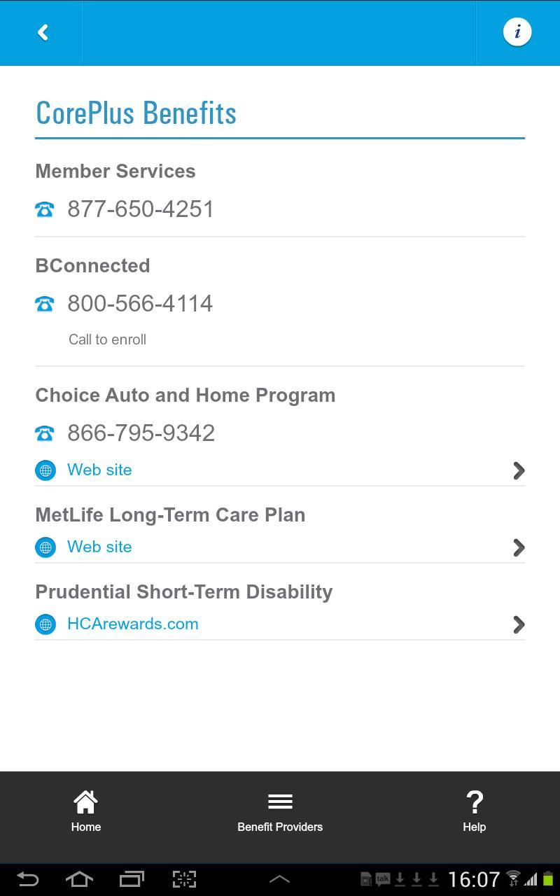 bconnected hca phone number