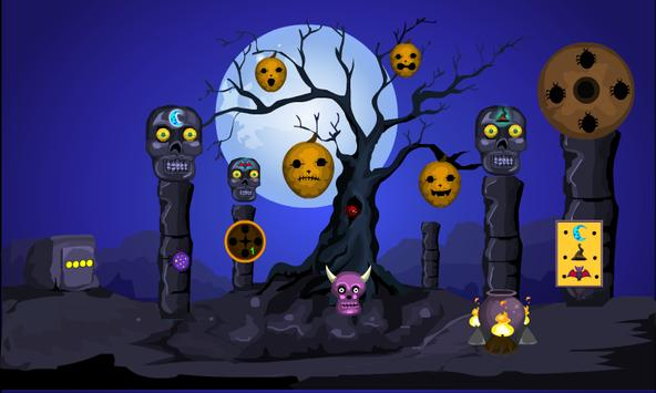 escape games halloween dangerous cave screenshot 2