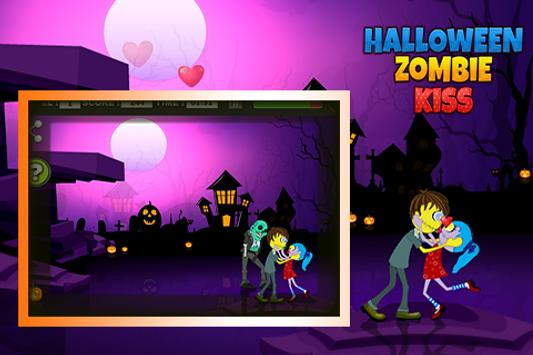 Halloween Zombie kiss screenshot 3