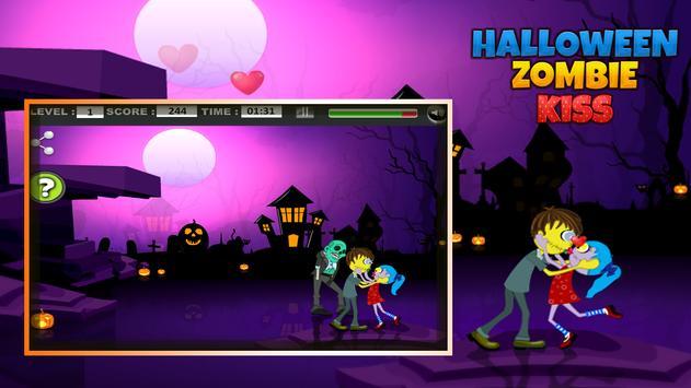 Halloween Zombie kiss screenshot 12