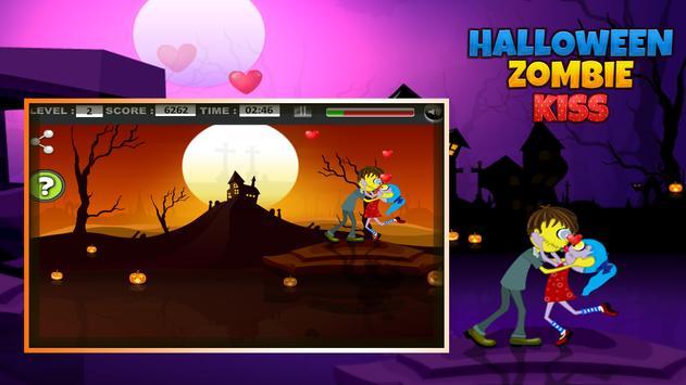 Halloween Zombie kiss screenshot 13