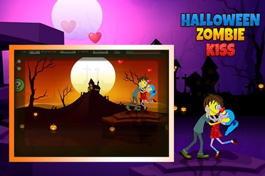 Halloween Zombie kiss screenshot 2