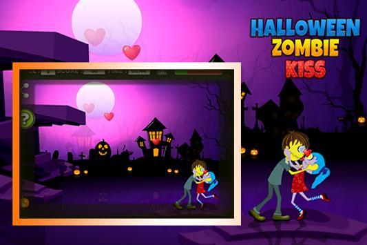 Halloween Zombie kiss screenshot 4