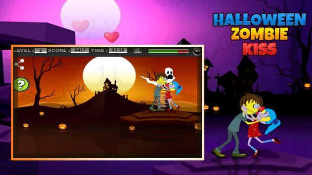 Halloween Zombie kiss screenshot 9