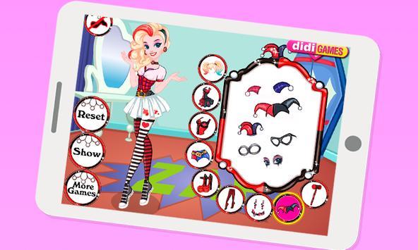 Dress Up Harley Quinn apk screenshot