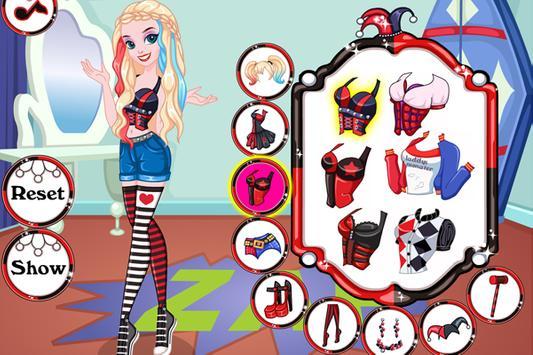 😈 Harley Dress up Game poster