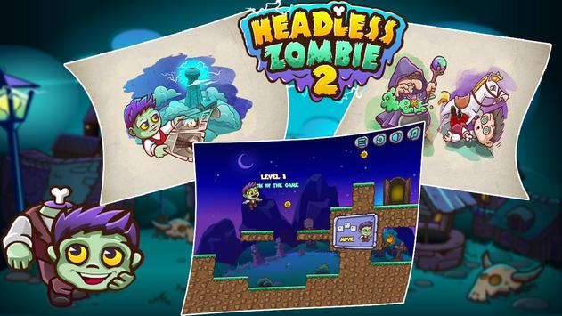 Headless Zombie poster