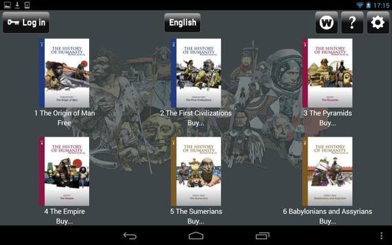 History in Comics apk screenshot