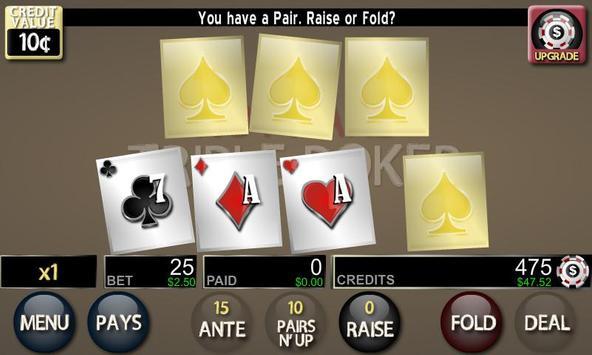 Hot Hand: Triple Poker Lite poster