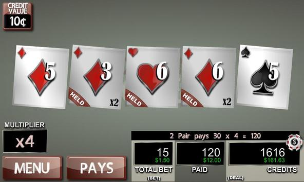 Hot Hand Poker Lite apk screenshot