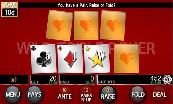 Wild Triple Poker Lite poster