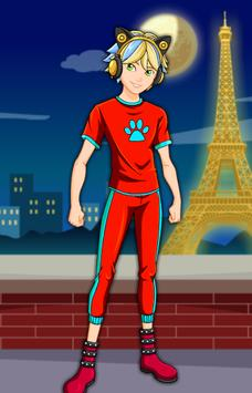 Dress Up Cat Noir Miraculous screenshot 8