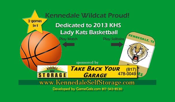 Wildcat Basketball Solitaire screenshot 2
