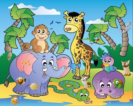 Kids Animals Hidden Objects poster