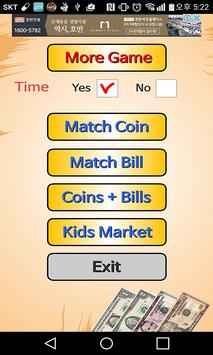 Kids Money Counter-market game poster