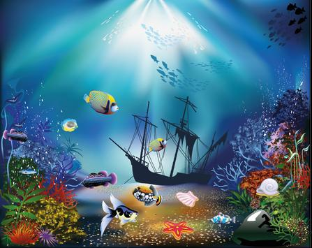 Hidden Object Underwater World poster