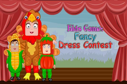 Kids Game :Fancy Dress Contest poster
