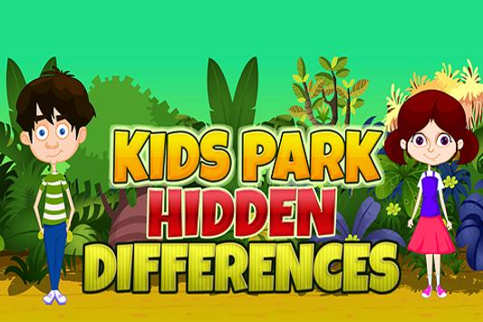 Kid's Park Hidden Differences poster