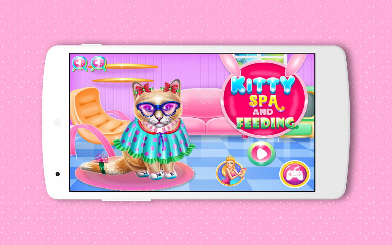 kitty spa and feeding free games apk download free casual game