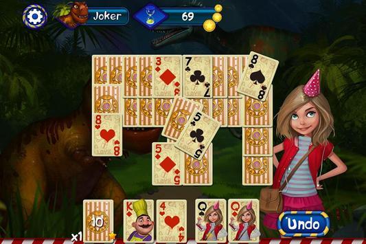 Luna Park Solitaire apk screenshot