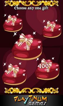 Valentine Loving Hearts Slots apk screenshot