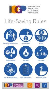 Life-Saving Rules poster