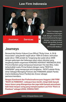Law Firm Indonesia poster